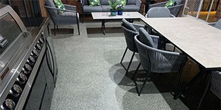 Alfresco example by Adelaide Exposed Concrete