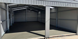 Shed example by Adelaide Exposed Concrete